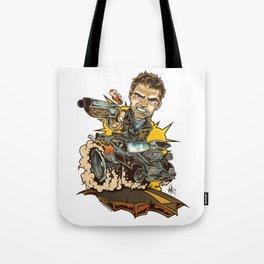 Wasteland Warrior Tote Bag