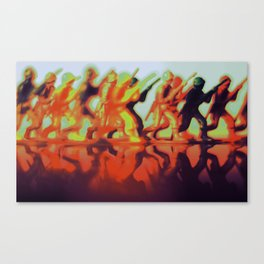 In the Heat Canvas Print
