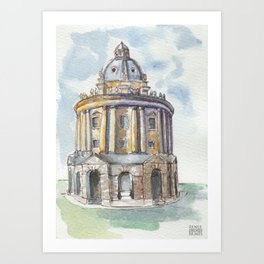 Oxford: Radcliffe Camera Art Print