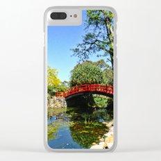 Red Bridge Clear iPhone Case