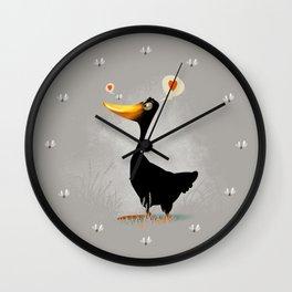 Duck and Junebug Wall Clock