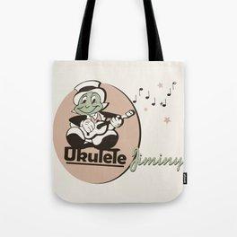 Ukelele Jiminy Tote Bag