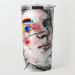 The abandonment of the body Travel Mug