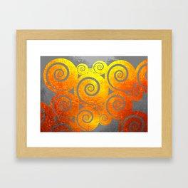 """ Kiwi Lifestyle"" - Golden Kuro Framed Art Print"