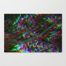 Tri-Chrome Separation  Canvas Print