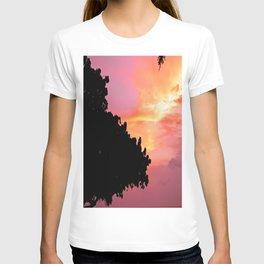 Divi Divi Tree Sunset T-shirt