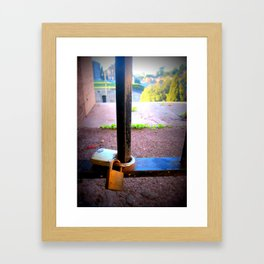 For Ever After and Into Always. Framed Art Print
