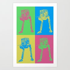 Star Wars: Pop Art AT-ST Art Print