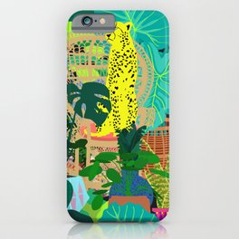 Maximalist Boho Jungle iPhone Case