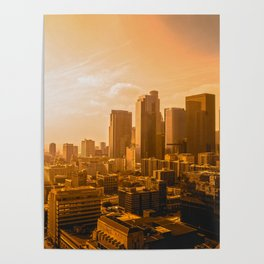 Los Angeles Sunset Poster