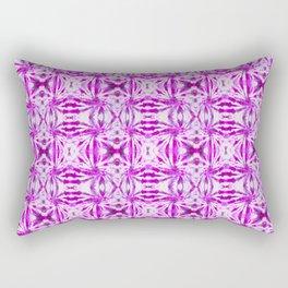 Summer Vibes Tie Dye in Magenta Rectangular Pillow