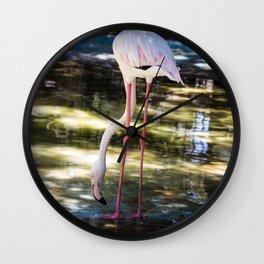 Flamingo Wall Clock