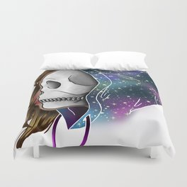 Chilled to the Bone Duvet Cover