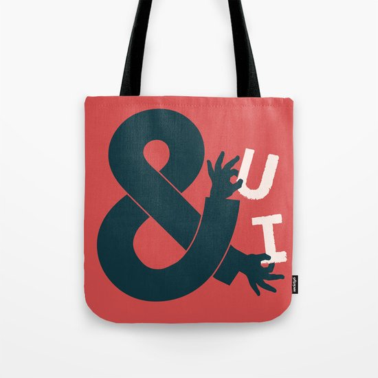 You and I, Ampersand Tote Bag