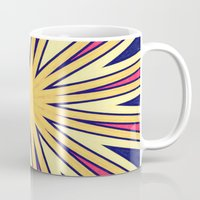 spires Mugs featuring Spires by Abstracts by Josrick