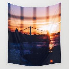 New York bridge Wall Tapestry
