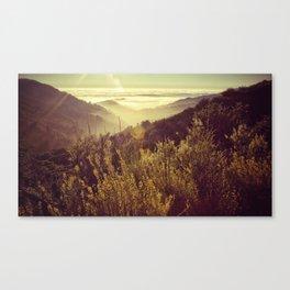 Botcher's Gap, Big Sur, CA Canvas Print