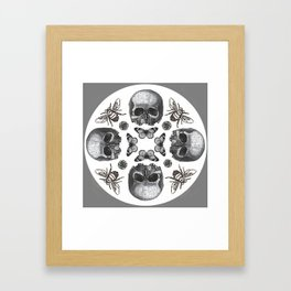 Surrealist Collage Framed Art Print