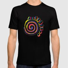 Indigenous Sun X-LARGE Black Mens Fitted Tee
