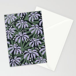 Garden in the evening Stationery Cards