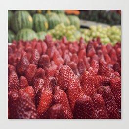 Strawberry Canvas Print