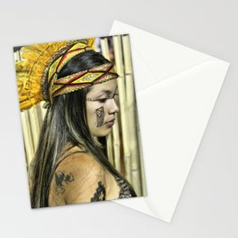 Natural beauty (no retouch) Stationery Cards