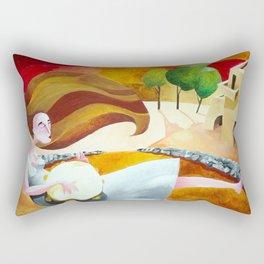 Partenze. Rectangular Pillow