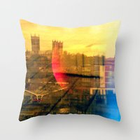 lincoln Throw Pillows featuring Lincoln by Jonathan Wright Productions