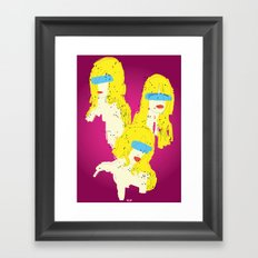 3 Woman Framed Art Print