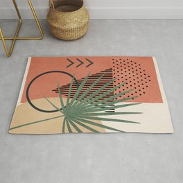 Nature Geometry II Rug