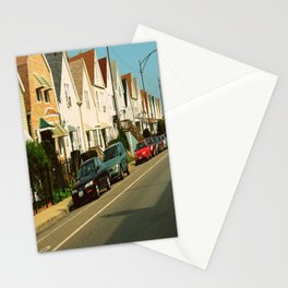 Pretty Houses In a Row ~ Chicago Stationery Cards