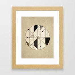 Irregular Sequence Framed Art Print
