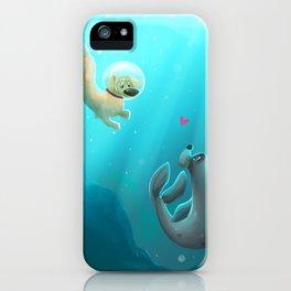 Mer-dog iPhone Case