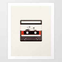 Audio Revolution Art Print