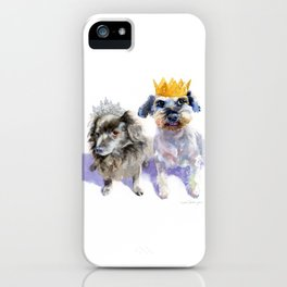 Canine Royalty iPhone Case