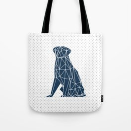 Faceted Dog - Labrador Tote Bag