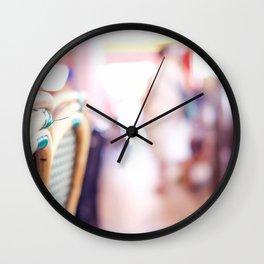 Pink in Paris 01 Wall Clock