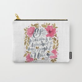 Isaiah 43:4 Carry-All Pouch