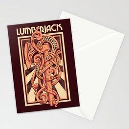 Lumberjack Axe Illustration Stationery Cards