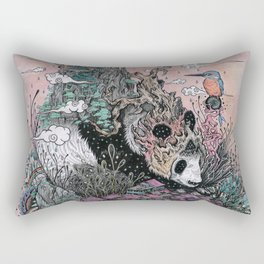 Land of the Sleeping Giant Rectangular Pillow