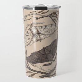 Peppered Moths Travel Mug
