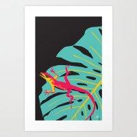 Anolis Art Print