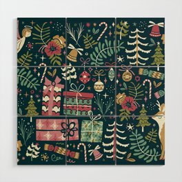 Christmas Joy Wood Wall Art
