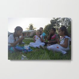 Candy Party Metal Print