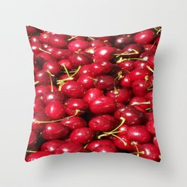 Cherry Delight Throw Pillow