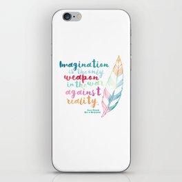 Alice In Wonderland | Quote 1 iPhone Skin