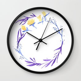 A Wish In The Night Wall Clock