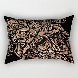 Viking Rabies Rectangular Pillow