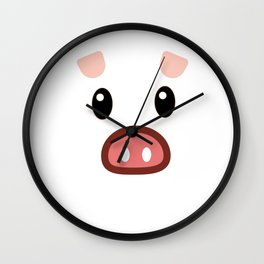 pig chinese new year year funny gift Wall Clock