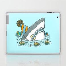 Birthday Shark II Laptop & iPad Skin